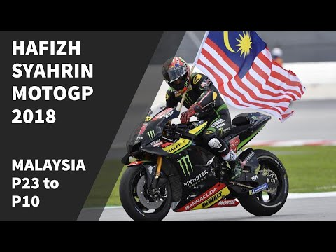 Hafizh Syahrin 23rd to 10th MotoGP Sepang 2018 Mp3