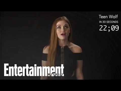 Teen Wolf: Holland Roden Explains The Series In 30 Seconds  Entertainment Weekly