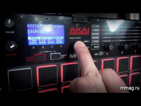 mmag.ru: akai mpx16 - сэмплер