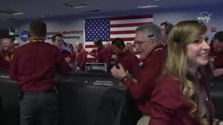 Touchdown! InSight Lands on Mars, Mission Control Erupts