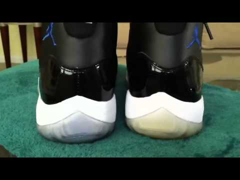 Space Jams Soles Dyed