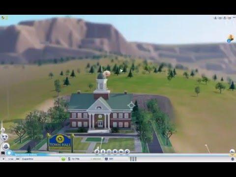 SimCity S01D01 Cupertino city aneb ropa všudě