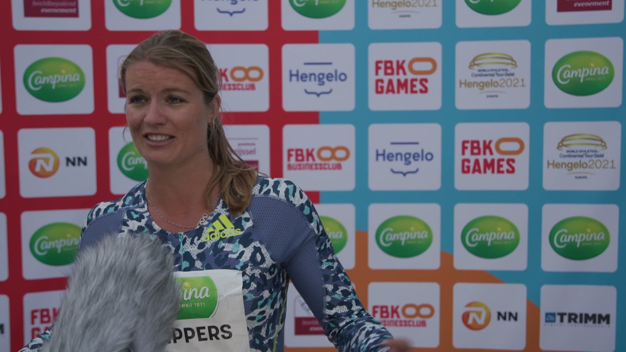 FBK Games 2021 - Dafne Schippers is happy to race again in the Netherlands