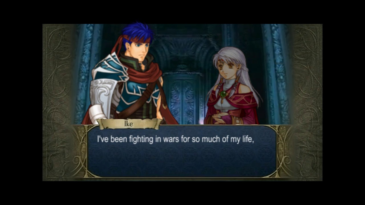 Radiant Dawn The Lost Supports Ike X Micaiah A Rank Youtube