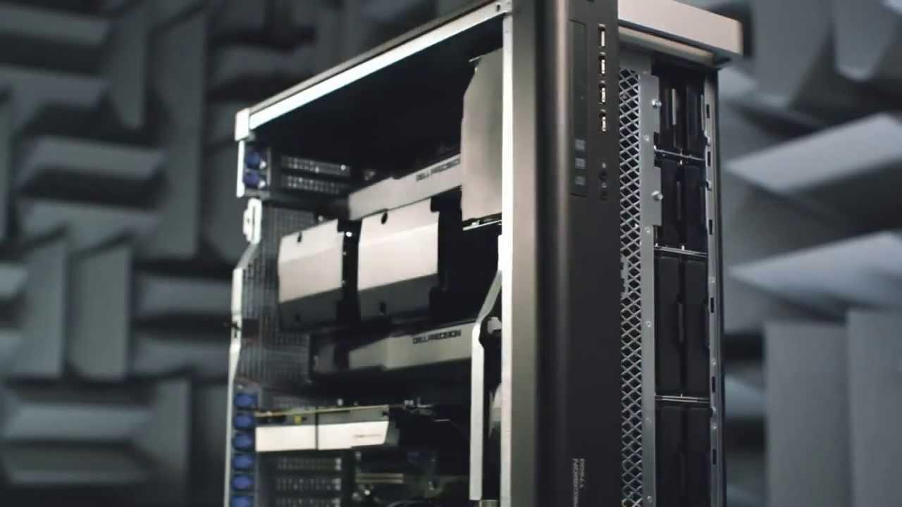 Dell Precision T7600 Workstation Overview - Globalnettech - YouTube