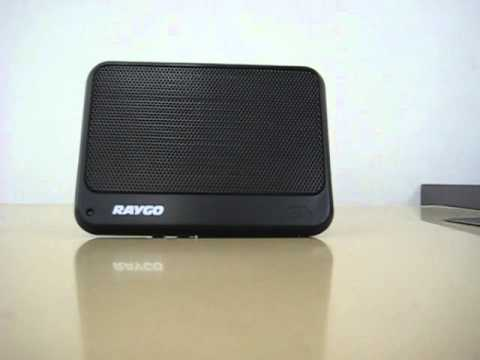 Product Review: Portable Speaker For MP3 Players & Ipods