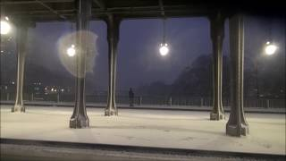 Снегопад и наводнение в Париже!