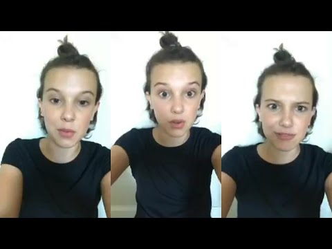 Millie Bobby Brown | Instagram Live Stream | 19 May 2017