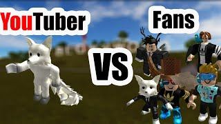 RACING AGAINST FAN IN VEHICLE SIMULATOR ROBLOX *10,000 Subscriber Special*
