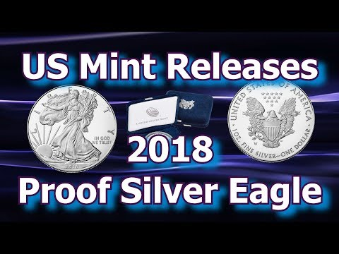US Mint Releases 2018 American Eagle Proof Silver Coins