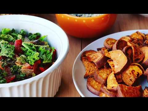 Sweet & Spicy Roasted Sweet Potatoes