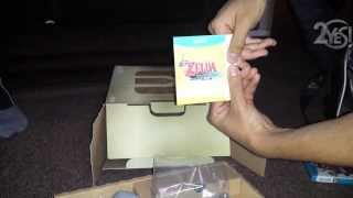 UK Nintendo Wii U Zelda Wind Waker HD Bundle Unboxing! (Limited Edition)