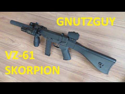 VZ-61 Skorpion Tactical  Pimp me Shoot series  vz61 Scorpion