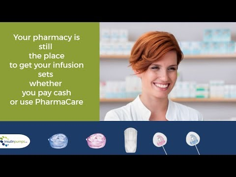 Get your infusion sets at your pharmacy and they will bill your provincial program!