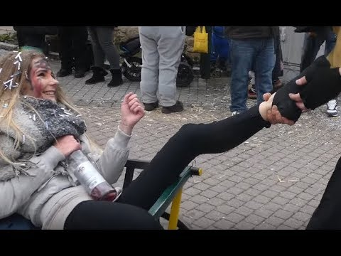 Fasnetsumzug Gärtringen Teil 7 steal socks