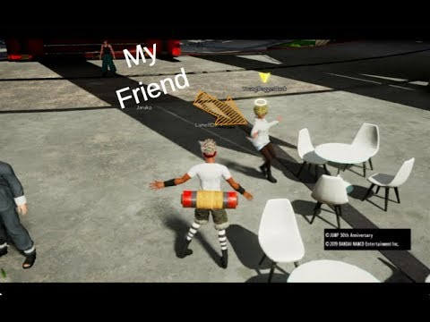 HOW TO JOIN YOUR FRIEND'S LOBBY IN JUMP FORCE??!! ANSWERED!! (NOT CLICKBAIT)