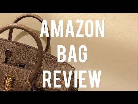 Review - Amazon Designer Inspired Bag | Planning With Kristen