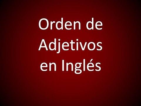 Ingles Americano - Orden de Adjetivos (Leccion 279)