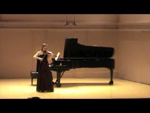 Chloe Trevor Beethoven Concerto: Allegro ma non troppo (part 3)