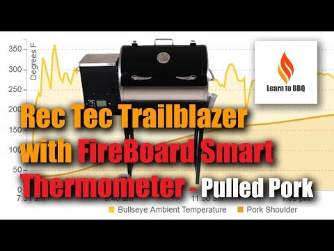 Rec Tec Trailblazer Grill Review  - FireBoard Thermometer - Keto - Pulled Pork - Learn To BBQ