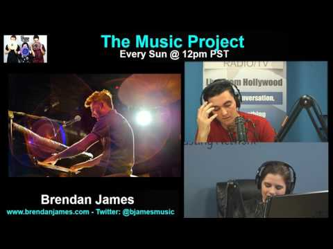 LIVE: Brendan James on The Music Project