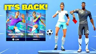 SOCCER SKINS & KICK UPS EMOTE IS BACK! Fortnite ITEM SHOP [April 8, 2019] | Fortnite Battle Royale
