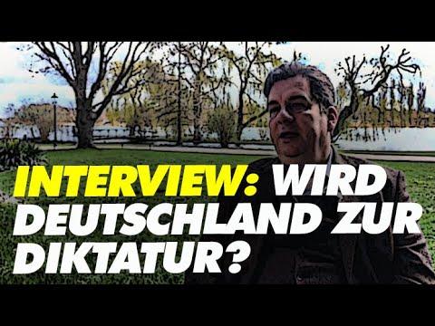 Interview: Wird Deutschland zur Diktatur? (mit russischem Untertitel)