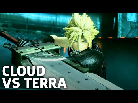 Dissidia Final Fantasy NT Gameplay: Cloud Versus Terra