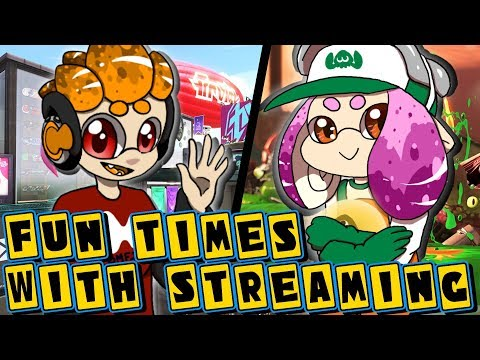 Fun Times With Streaming! Salmon Run and Private Battles! With Mike (Splatoon 2)