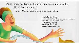 Deutsch (A1/A2) lernen mit Geschichten