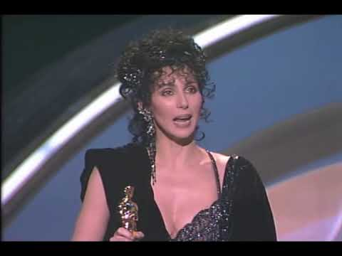 Cher Wins Best Actress: 1988 Oscars
