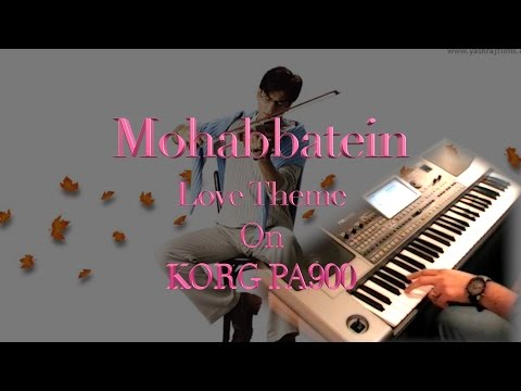 Mohabbatein love theme-Instrumental on keyboard