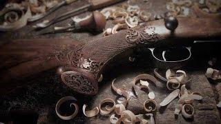 J.Krbeček - Zdobení zbraní (decorating gunstock)