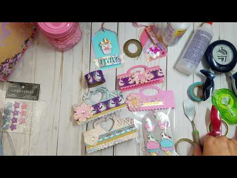 DIY Package TOPPERS!! Let's Decorate some!!😉