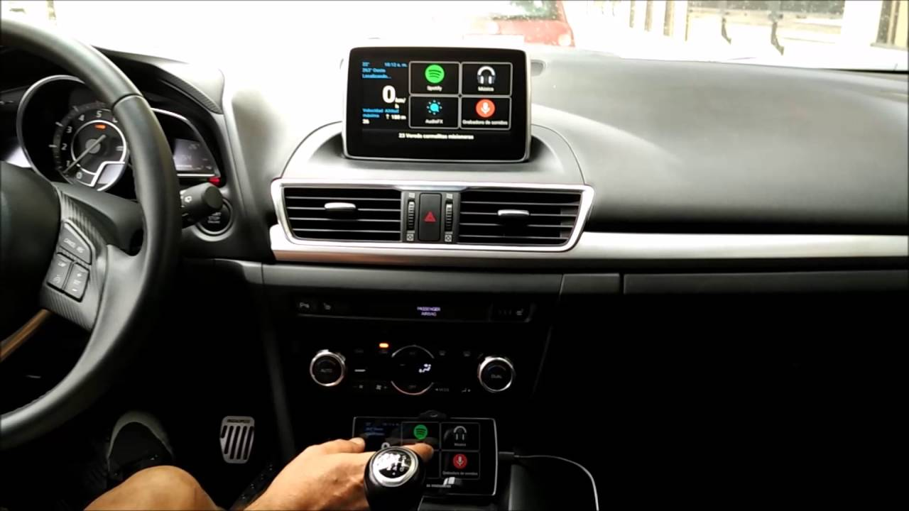 Mzd Connect Android Auto >> MAZDA CONNECT CASTSCREEN - YouTube