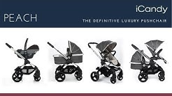 iCandy Peach Pushchair Store Demo - Direct2Mum