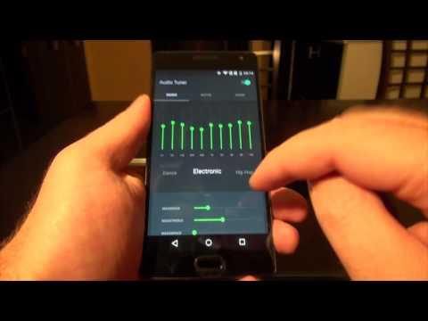 OnePlus Two. Настройка звука, эквалайзер, пресеты.