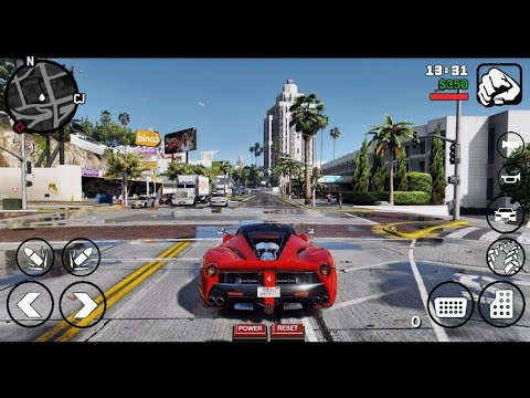 GTA V Graphics Modpack V2 [200MB] For GTA SA Android | All