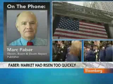 Marc Faber Stock Plunge Caused by Market Rising Too Quickly (6/May/10) (NWO ECONOMICS SERIES)