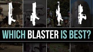 Best Blasters In Star Wars