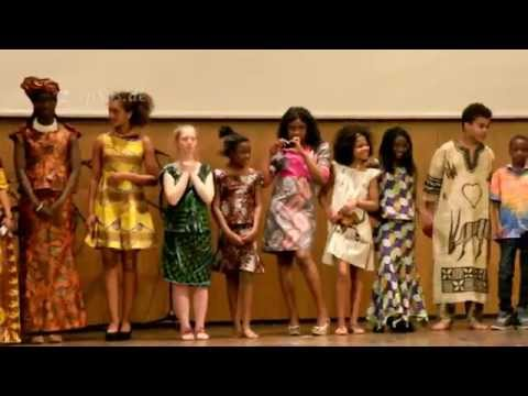 African Fashion Show in Europe