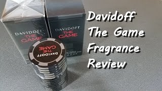 Davidoff The Game Fragrance / Cologne Review (and Giveaway)