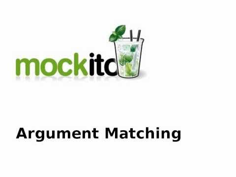 Mockito - Using Argument Matches in Java Unit Tests