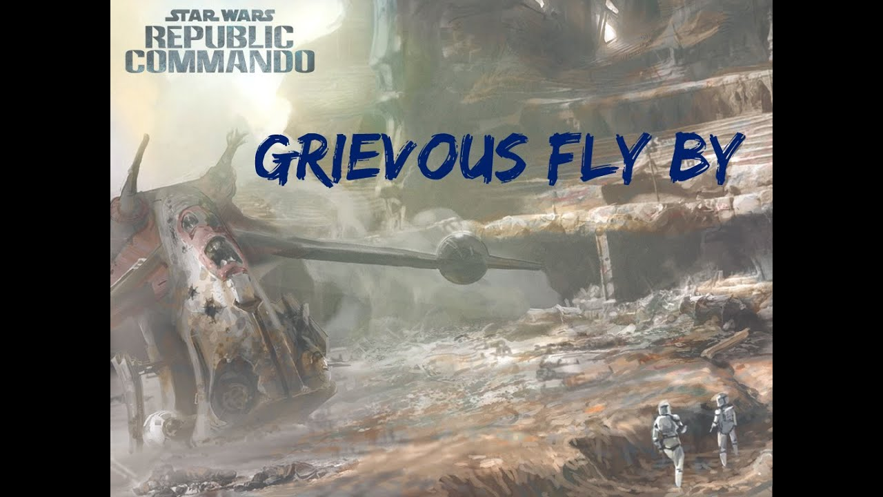 Star Wars Republic Commando - Grievous Fly By (Soundtrack)