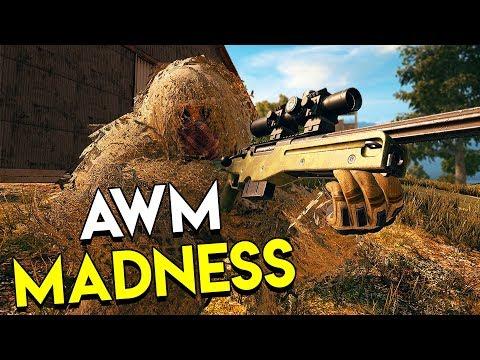 AWM MADNESS! - PUBG (PlayerUnknown's Battlegrounds Full Game)