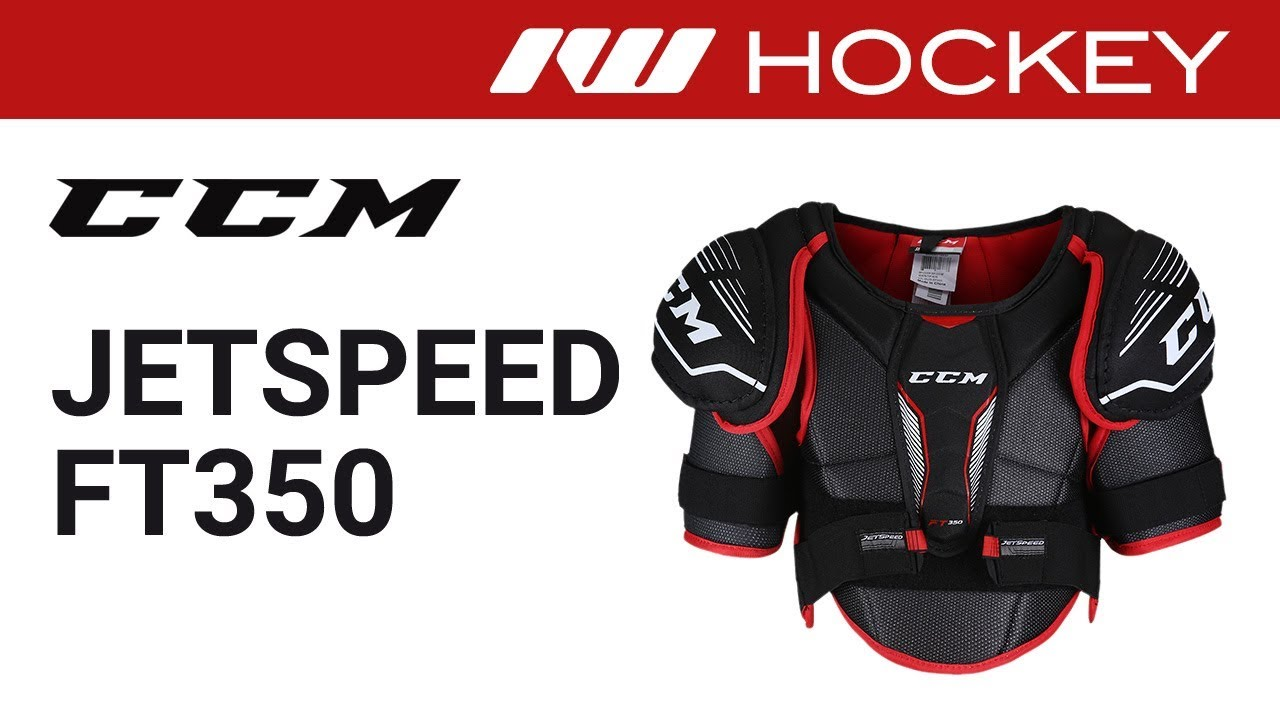 9cfceca23cc CCM JetSpeed FT350 Shoulder Pad Review - YouTube