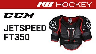 CCM JetSpeed FT350 Shoulder Pad Review