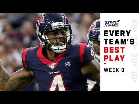 Every Team's Best Play of Week 8! | NFL Highlights