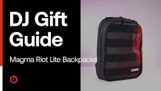 DJ Gift Guide: Magma Riot Lite Backpacks