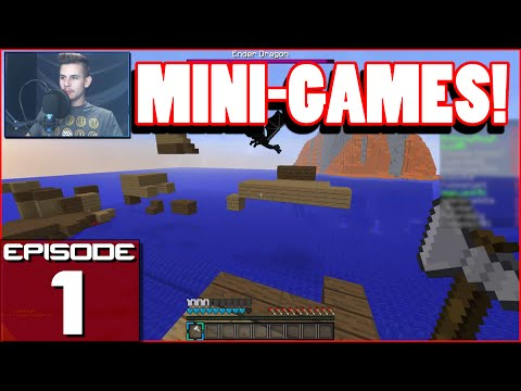 Minecraft Mini-games: EP 1 |  DRAGONS!